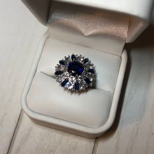 Stunning Cocktail Style Ring - Size 6 1/2